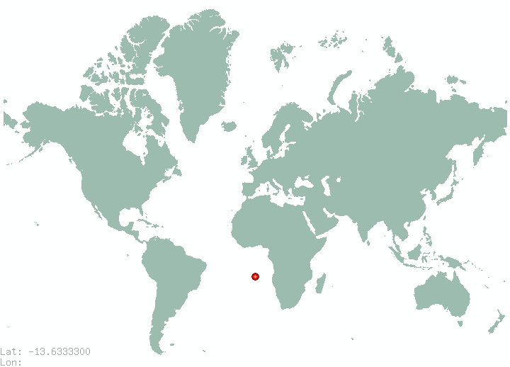 Chipata in world map